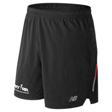 New Balance Run 4 Life Impact 7 Inch Short, Black
