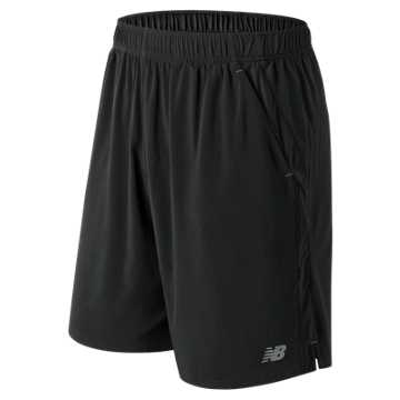 New Balance 9 Inch Rally Short, Black