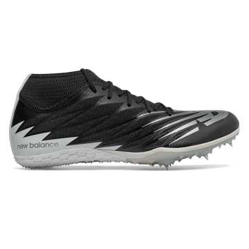 New Balance Spike 100v2, Black with White