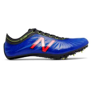 New Balance SD200v1 Spike, Blue with Guava