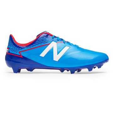 New Balance Furon 3.0 Dispatch FG, Bolt with Royal Blue & Energy Red