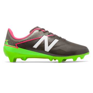 New Balance Furon 3.0 Dispatch FG, Military Dark Triumph with Alpha Pink & Energy Lime