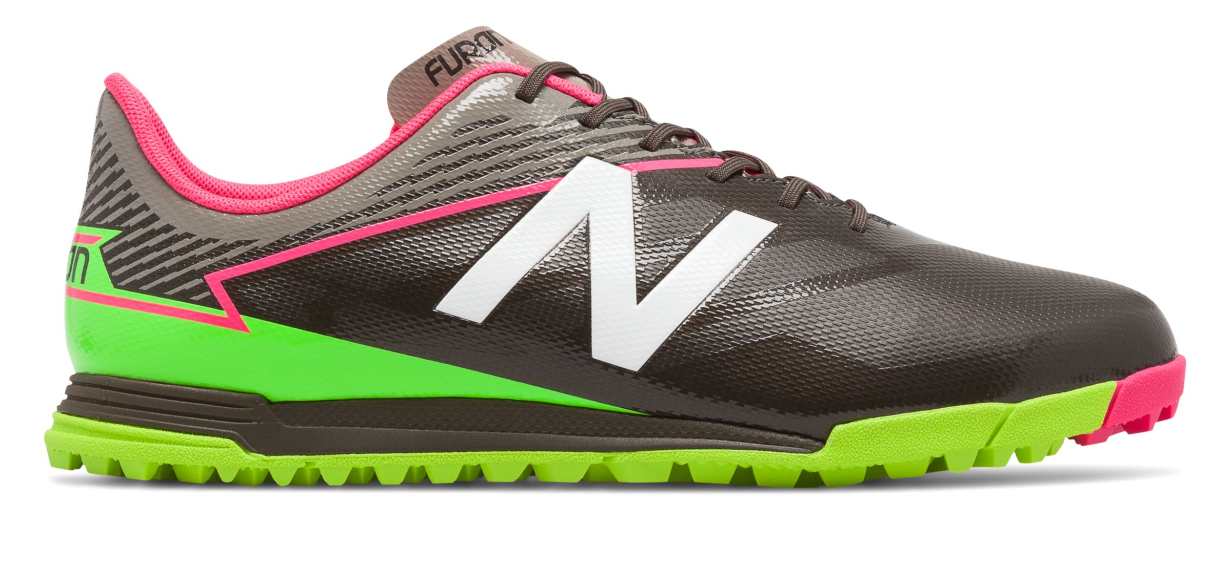NB Furon 3.0 Dispatch TF, Military Dark Triumph with Alpha Pink & Energy Lime