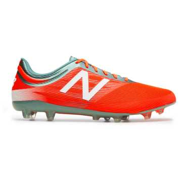 New Balance Furon 2.0 Mid Level FG, Alpha Orange with Tornado