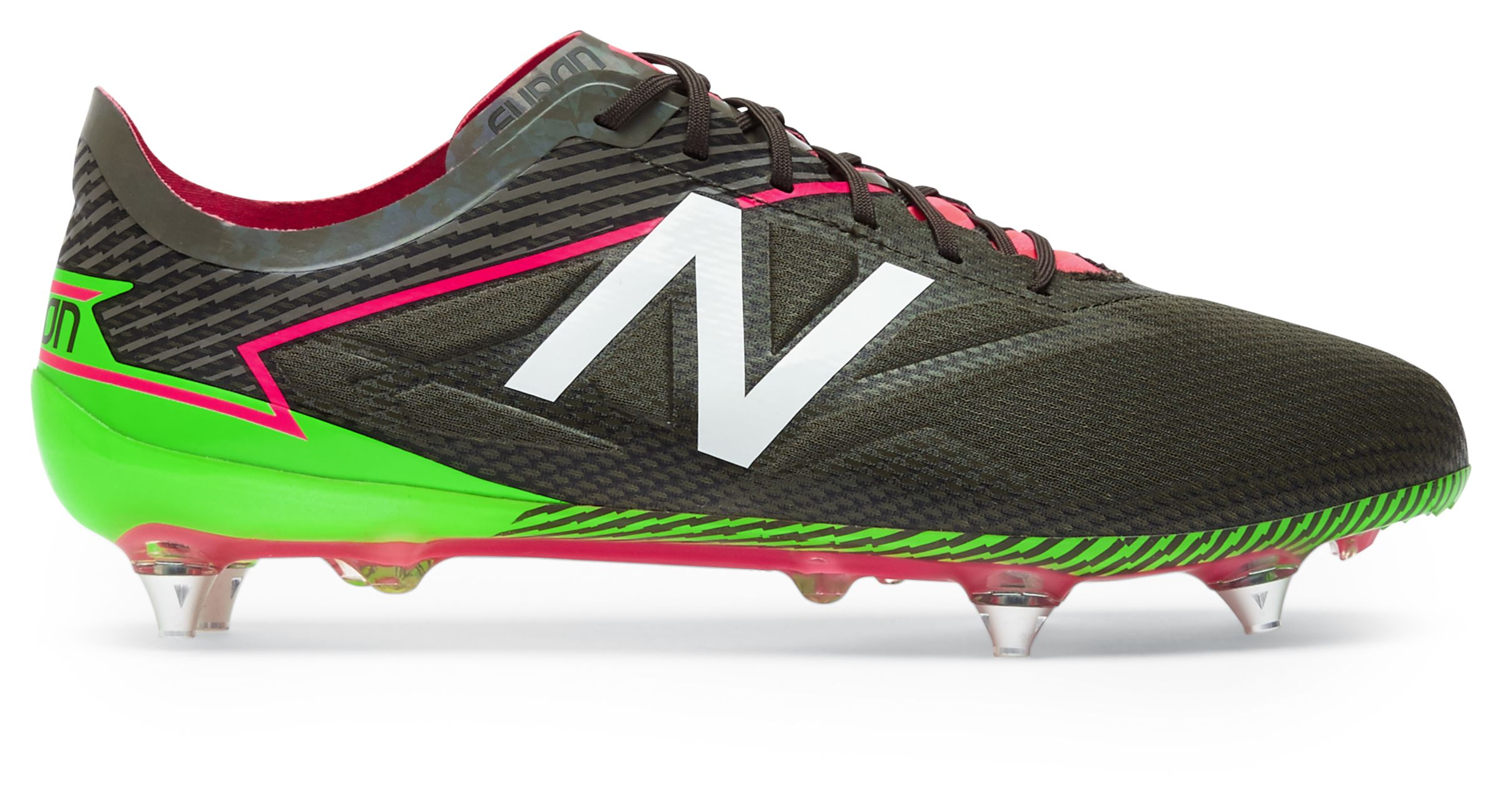 NB Furon 3.0 Pro SG, Military Dark Triumph with Alpha Pink & Energy Lime