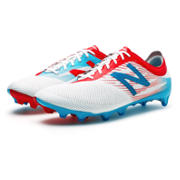 New Balance Furon 2.0 Pro FG, White with Atomic & Barracuda
