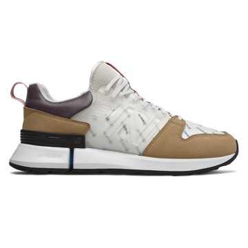 New Balance R_C2系列男女同款复古休闲鞋  机能风潮 限量发售, 白色/卡其色