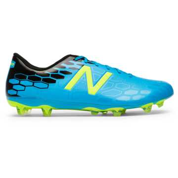 New Balance Visaro 2.0 Control FG, Maldives Blue with Hi-Lite & Black