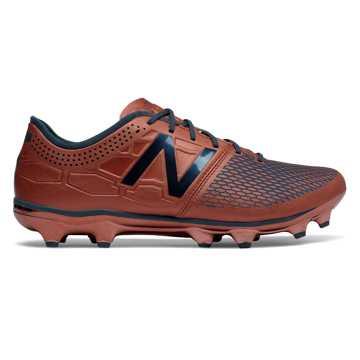 New Balance Visaro 2.0 Limited Edition FG  足球鞋 男款 缓震防滑, 古铜色/深蓝色