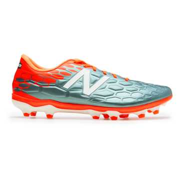 New Balance Visaro 2.0 Mid Level FG, Tornado with Alpha Orange