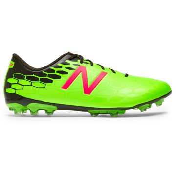New Balance 足球鞋 男款 缓震防滑, 荧光绿