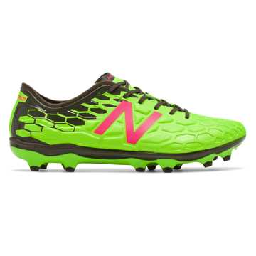 New Balance Visaro 2.0 Pro FG, Energy Lime with Military Dark Triumph & Alpha Pink