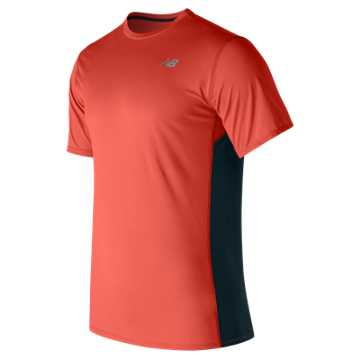 New Balance Accelerate Short Sleeve, Alpha Orange with Supercell