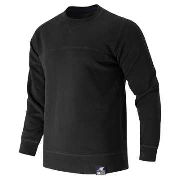 New Balance Crew Neck Sweatshirt, Black