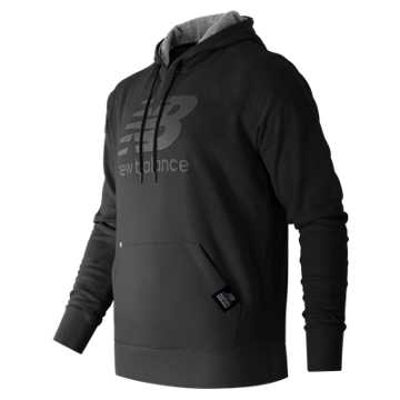 New Balance Pullover Hoodie, Black
