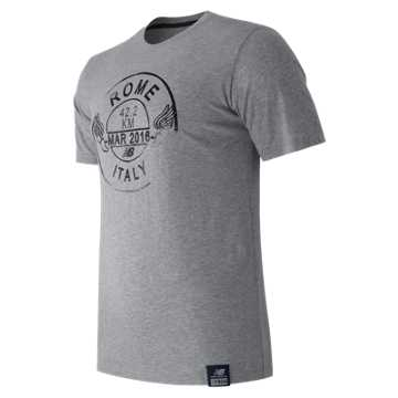 New Balance Passport Tee, Athletic Grey