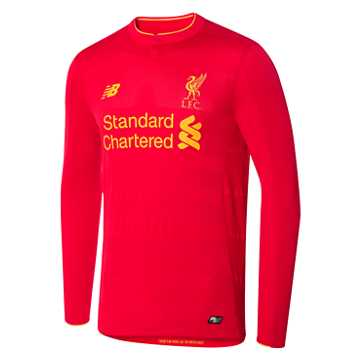 New Balance LFC Mens Home LS Jersey, High Risk Red
