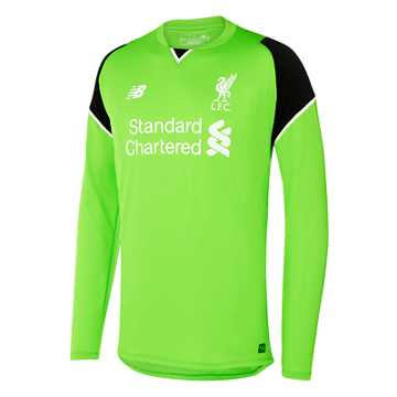 New Balance LFC Mens Mignolet Home No Patch GK LS Jersey, Locust