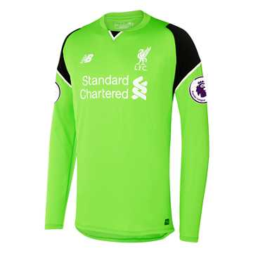 New Balance LFC Mens Mignolet Home EPL Patch GK LS Jersey, Locust