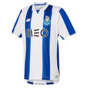 New Balance Maillot MC domicile Porto FC en jersey pour hommes, Blanc