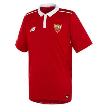 New Balance Sevilla Mens Away SS Jersey, Pompeian Red