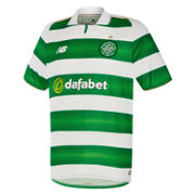 New Balance Celtic Mens Home SS Jersey, White