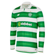 NB Celtic Mens Home LS Jersey, White