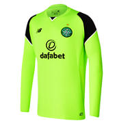 NB Celtic Mens Home GK LS Jersey, Toxic