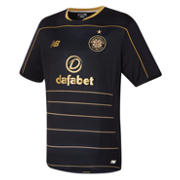 NB Celtic Mens Away SS Jersey, Black