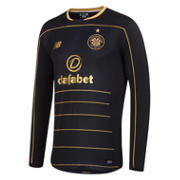 NB Celtic Mens Away LS Jersey, Black