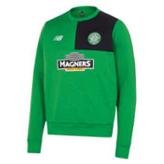 NB Celtic Mens Elite Training Sweatshirt, Fern Green
