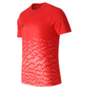 NB Tech Training Furon Graphic SS Jersey LE, Atomic