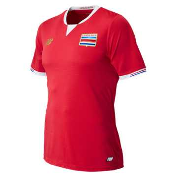 New Balance Costa Rica Commemorative Mens Home SS Jersey, Classic Red