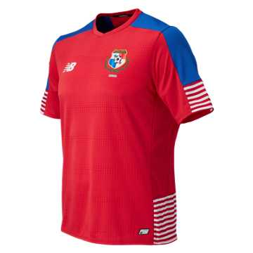 New Balance Panama Mens Home SS Jersey, Panama Red