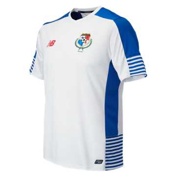 New Balance Panama Mens Away SS Jersey, White