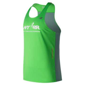 New Balance Run for Life NB Ice Singlet, Vivid Catcus Print