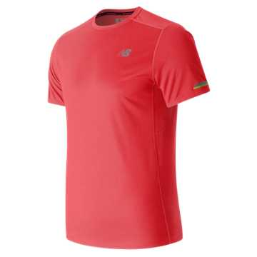 New Balance NB Ice Short Sleeve, Bright Cherry