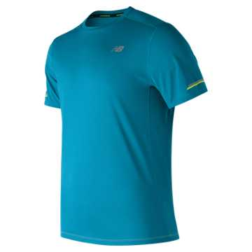New Balance NB Ice Short Sleeve, Deep Ozone Blue