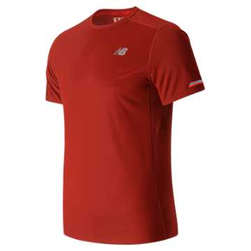 New Balance NB Ice Short Sleeve, Energy Red