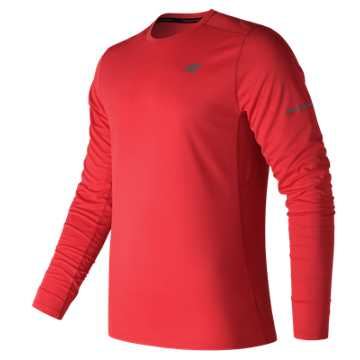 New Balance NB Ice Long Sleeve, Red Pepper