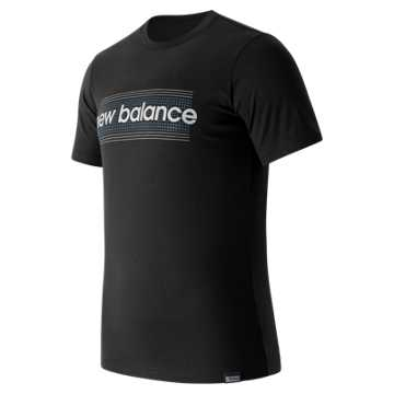 New Balance Grid Tee, Black
