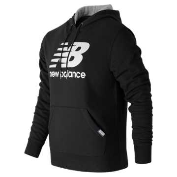New Balance Classic Pullover Hoodie, Black