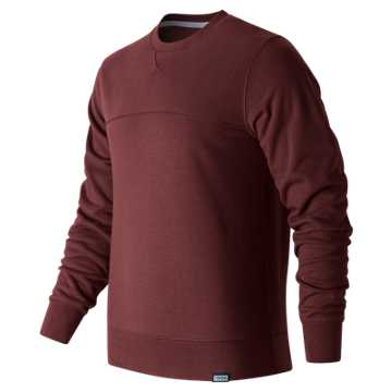 New Balance Classic Crewneck Sweatshirt, Admiral Red