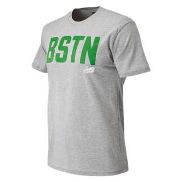 New Balance Boston City Tee, Athletic Grey