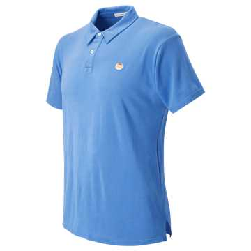 New Balance Pique Polo, Blue