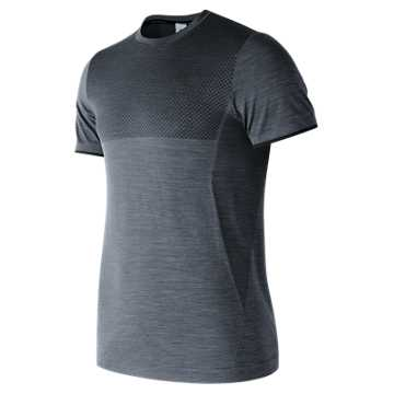 New Balance M4M Seamless Short Sleeve, Athletic Grey
