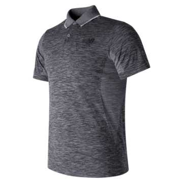 New Balance M4M Seamless Polo, Athletic Grey