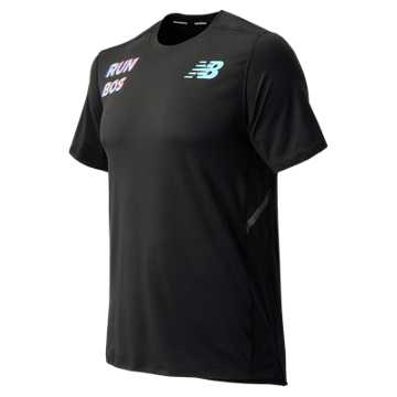 New Balance Boston Tee, Black
