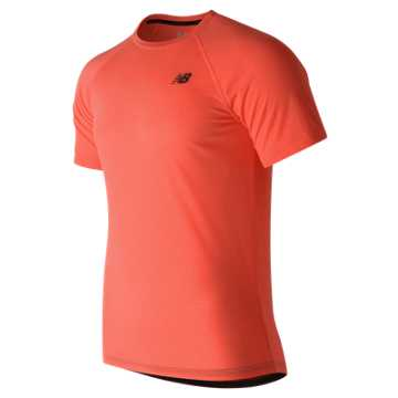 New Balance Pindot Breathe Short Sleeve, Sunrise