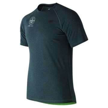 New Balance Brooklyn Half Pindot SS Tee, Supercell